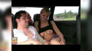 порно пикап с аналом в машине
