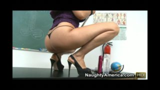 Isis Love in Live Naughty Teacher